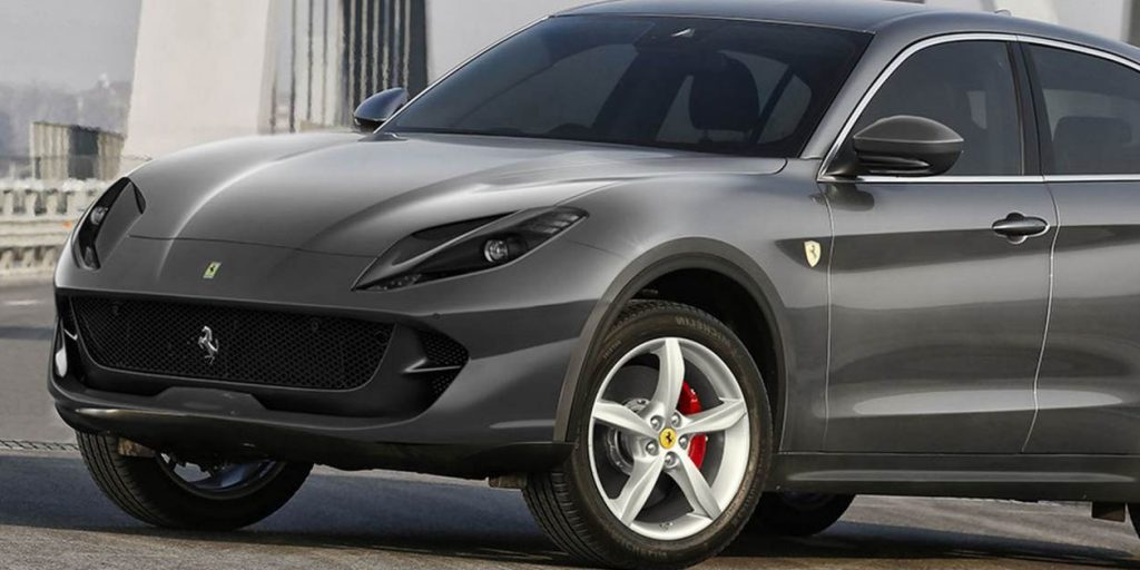 SUV Ferrari - Minute Luxe