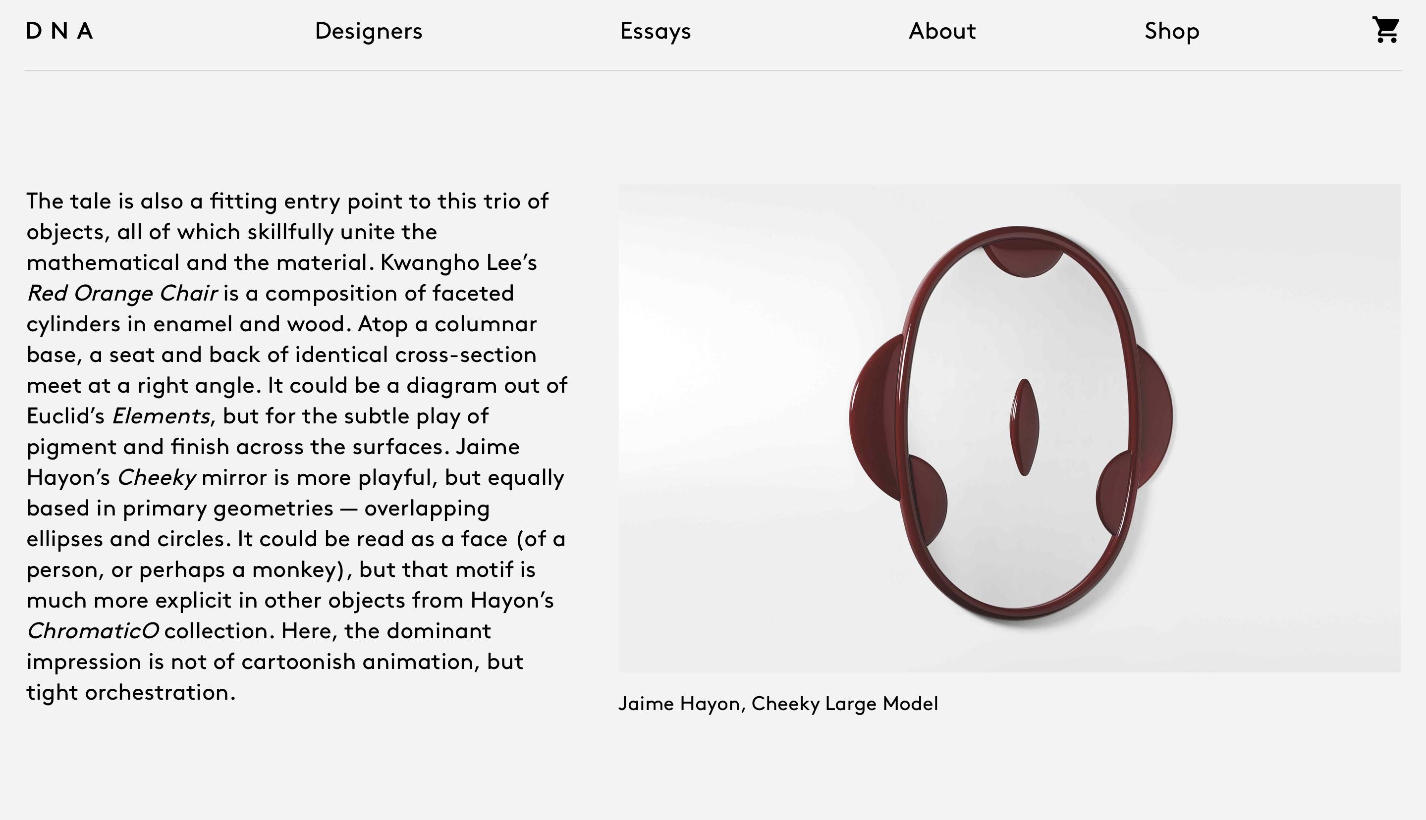 DNA design pour Minute Luxe Magazine