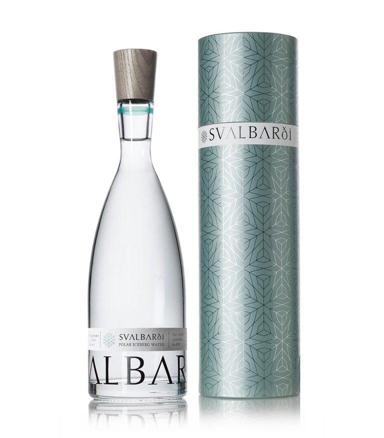 Bouteille d'eau en verre de luxe Svalbaroi