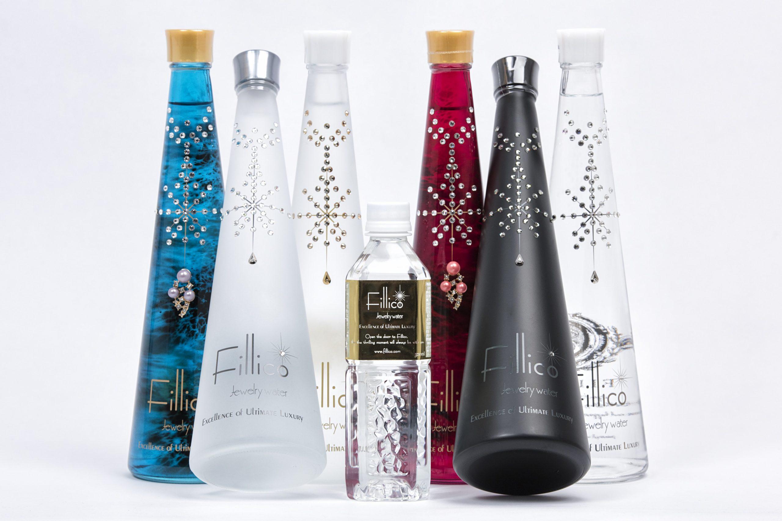 Fillico eau plus chère monde bouteille luxe or