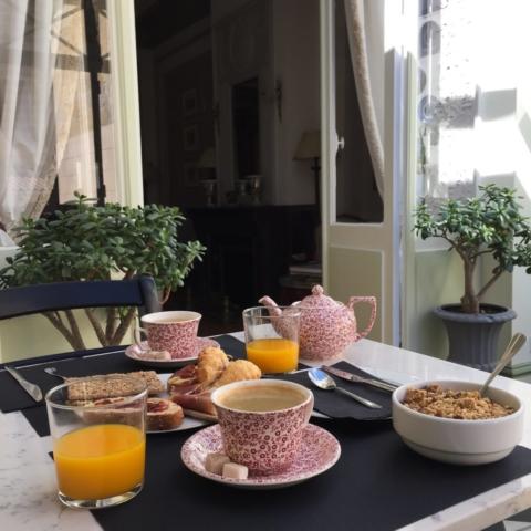 Petit déjeuner Bordeaux