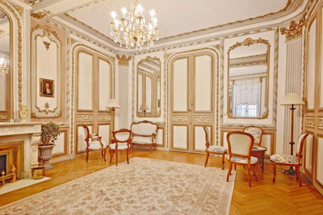 Salon haussmannien luxe Bordeaux