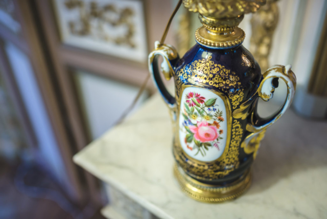 Vase décoration luxe