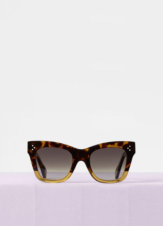 Lunettes de soleil luxe abordable Céline