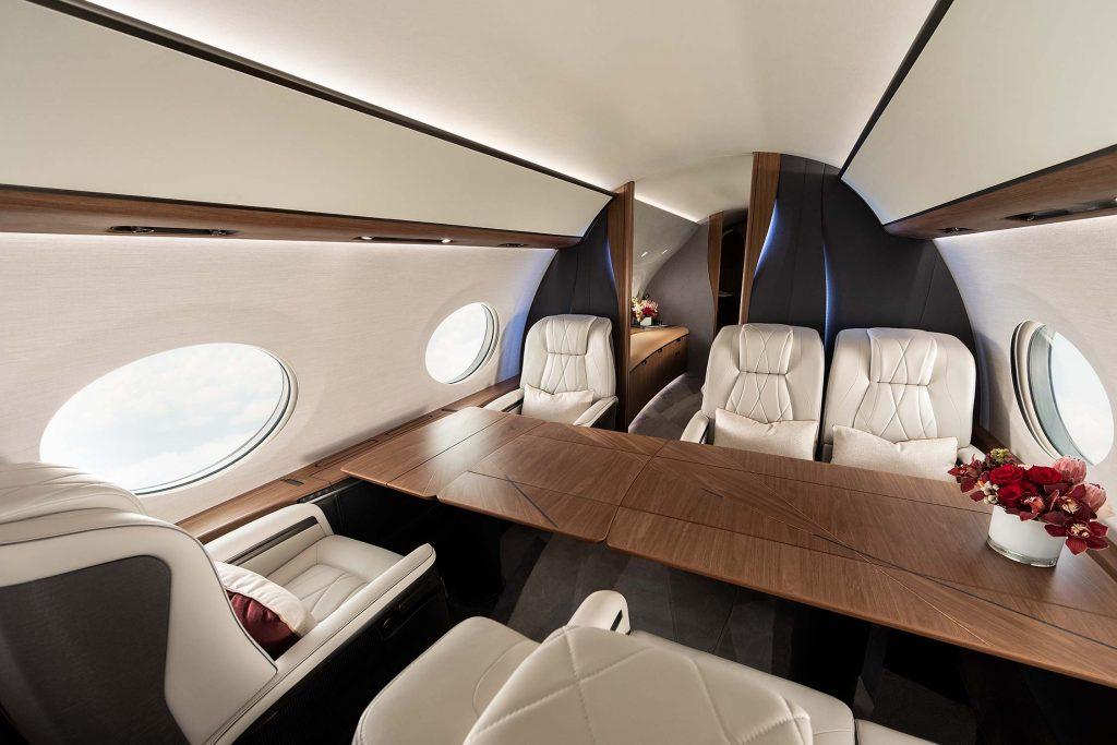 jet privé luxe Gulfstream