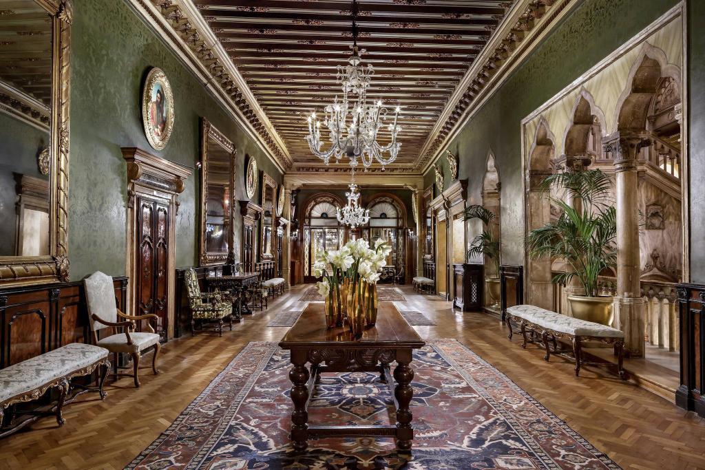 salon de luxe hotel à venise