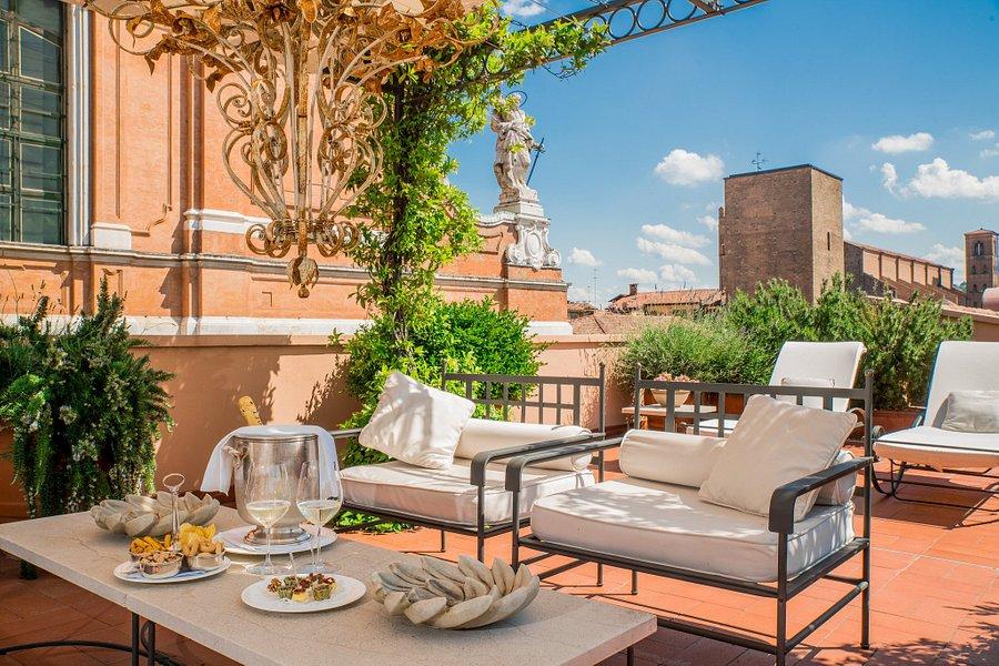 terrasse chambre de luxe grand hotel