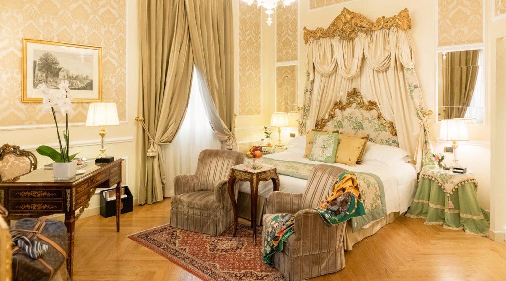 chambre hotel de luxe grand majestic italie