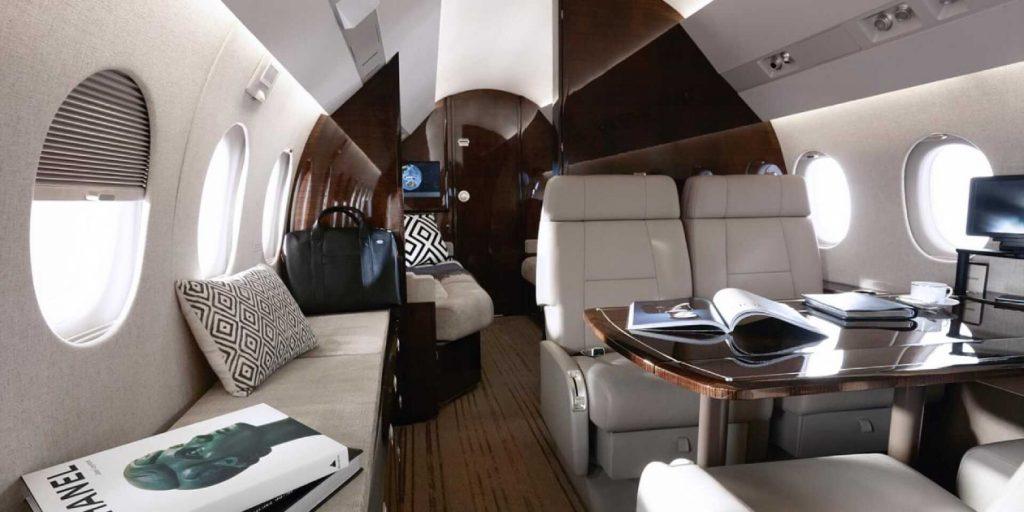 Cabine de jet privé