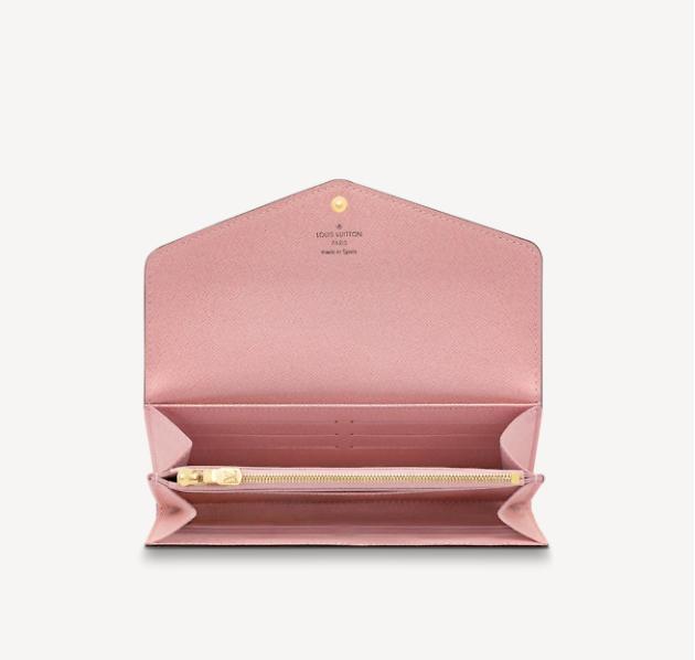 Portefeuille LV rose Mode abordable de luxe