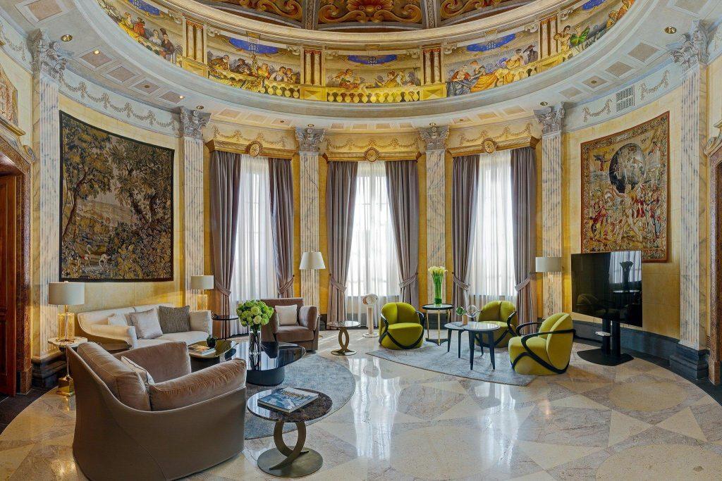 Westin excelsior Italie plus bel hôtel italien luxe