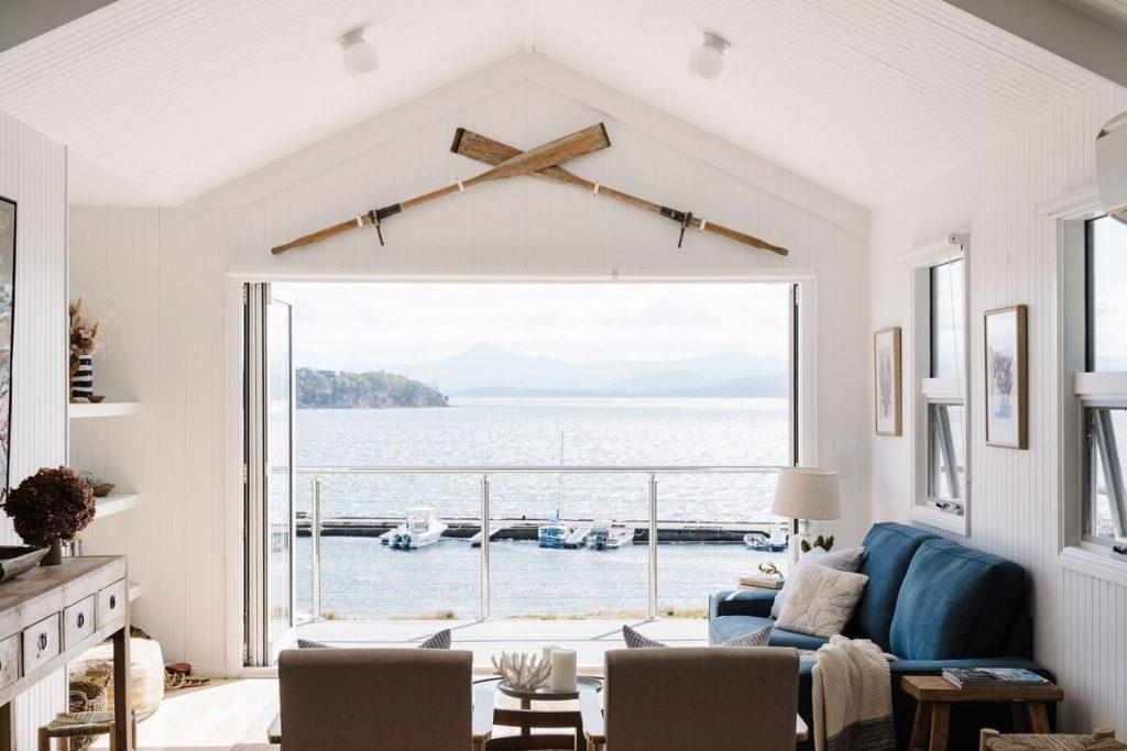 Vue mer hôtel luxe Island