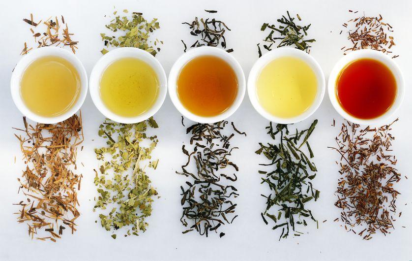 Différent thés - Minute Luxe