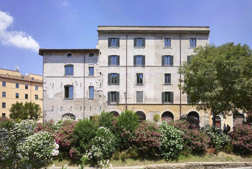 Fondation Fendi façade
