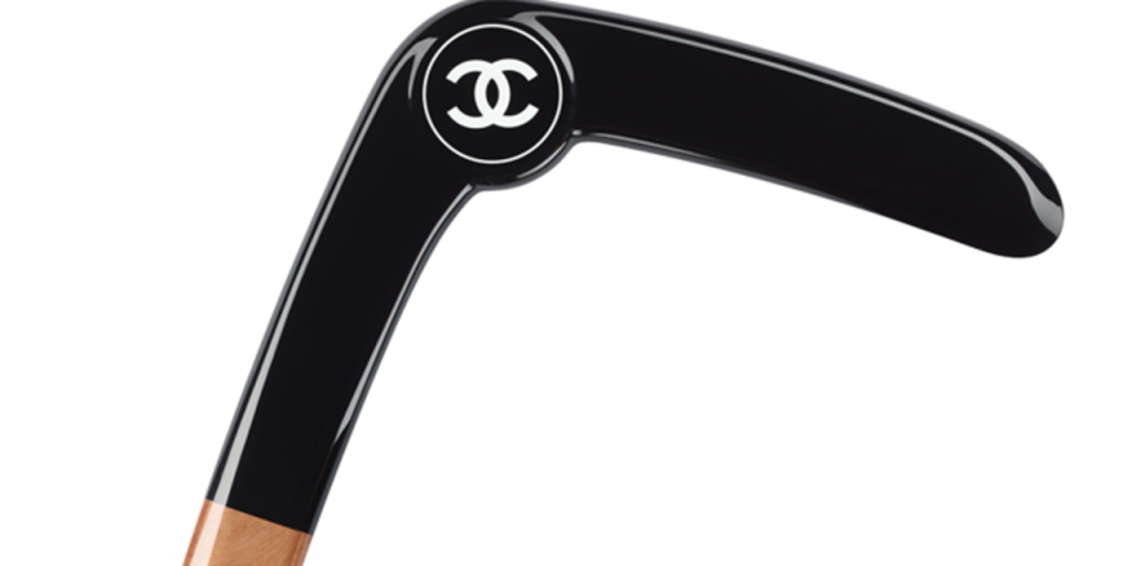 Boomerang Chanel noir luxe