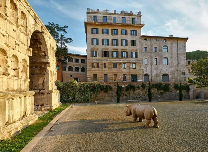 Fondation Fendi Rhinocéros