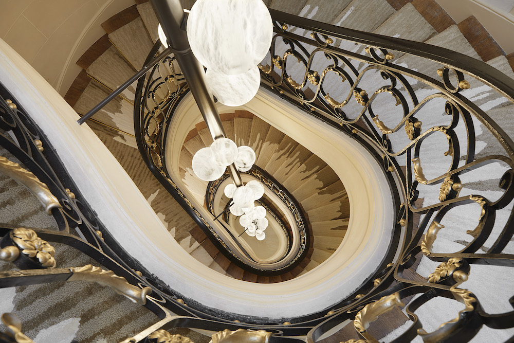 Hotel Villeroy Escaliers