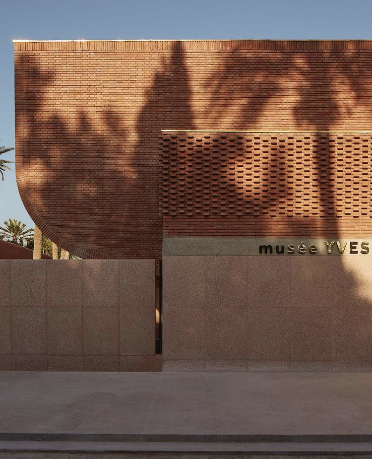 Le Musée Yves Saint Laurent Marrakech extérieur