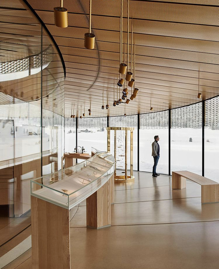 Musée Atelier Audemars Piguet Intérieur