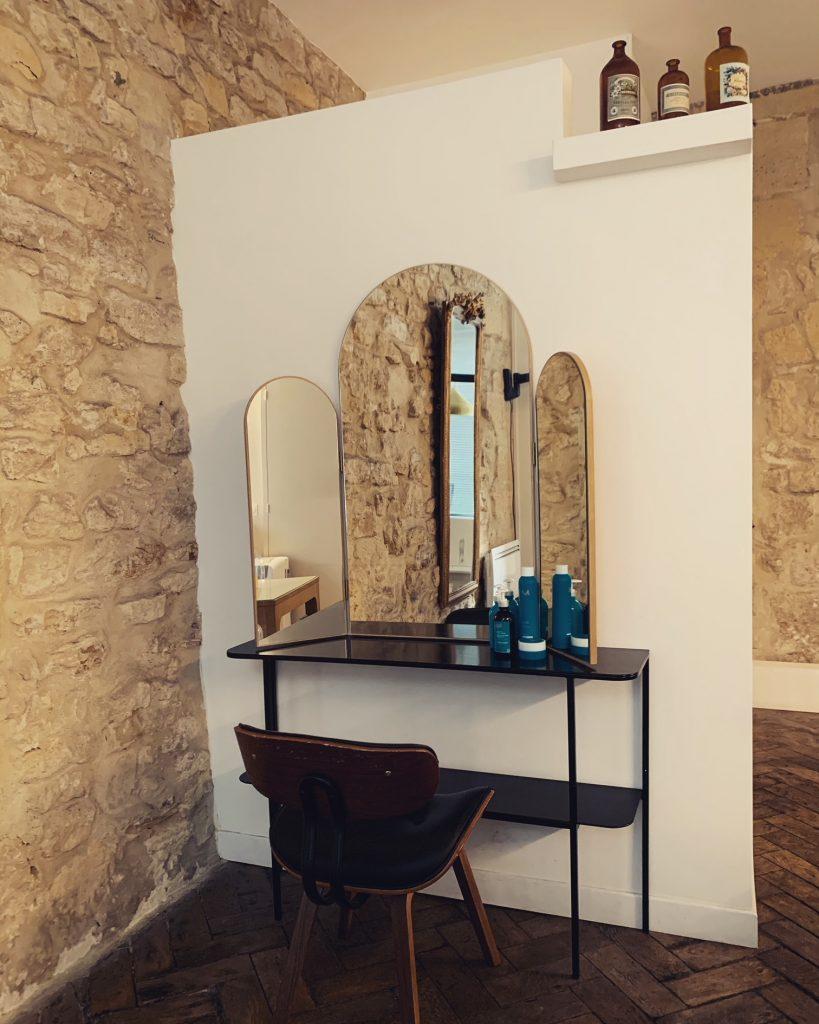Coiffeur luxe coiffures relooking miroir le 58