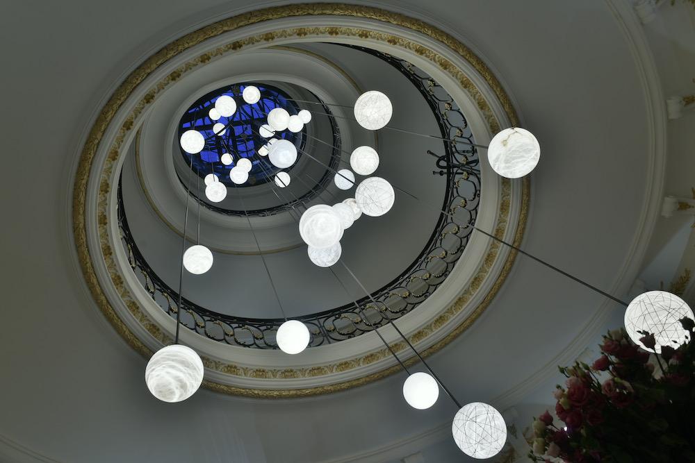 Lustre -sphères