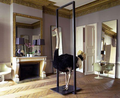 David Mallet coiffeur de luxe salon paris