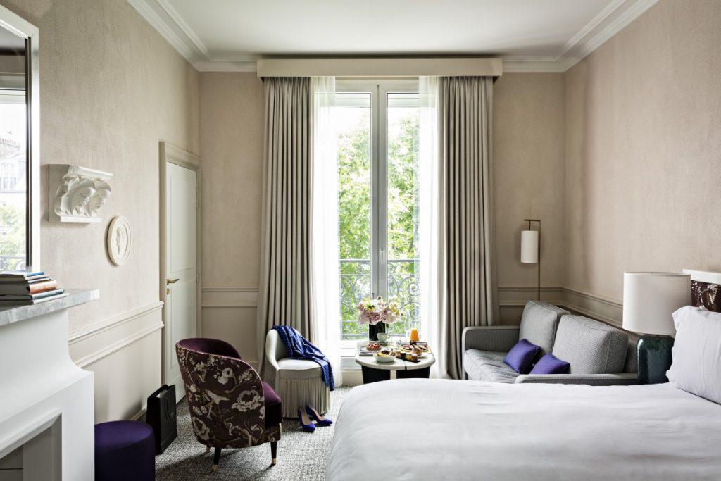 Chambre hôtel scribe hôtel de luxe