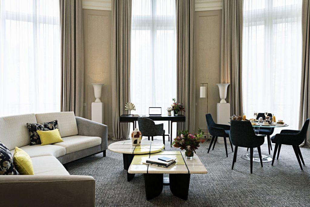 Salon suite hôtel de luxe scribe opera