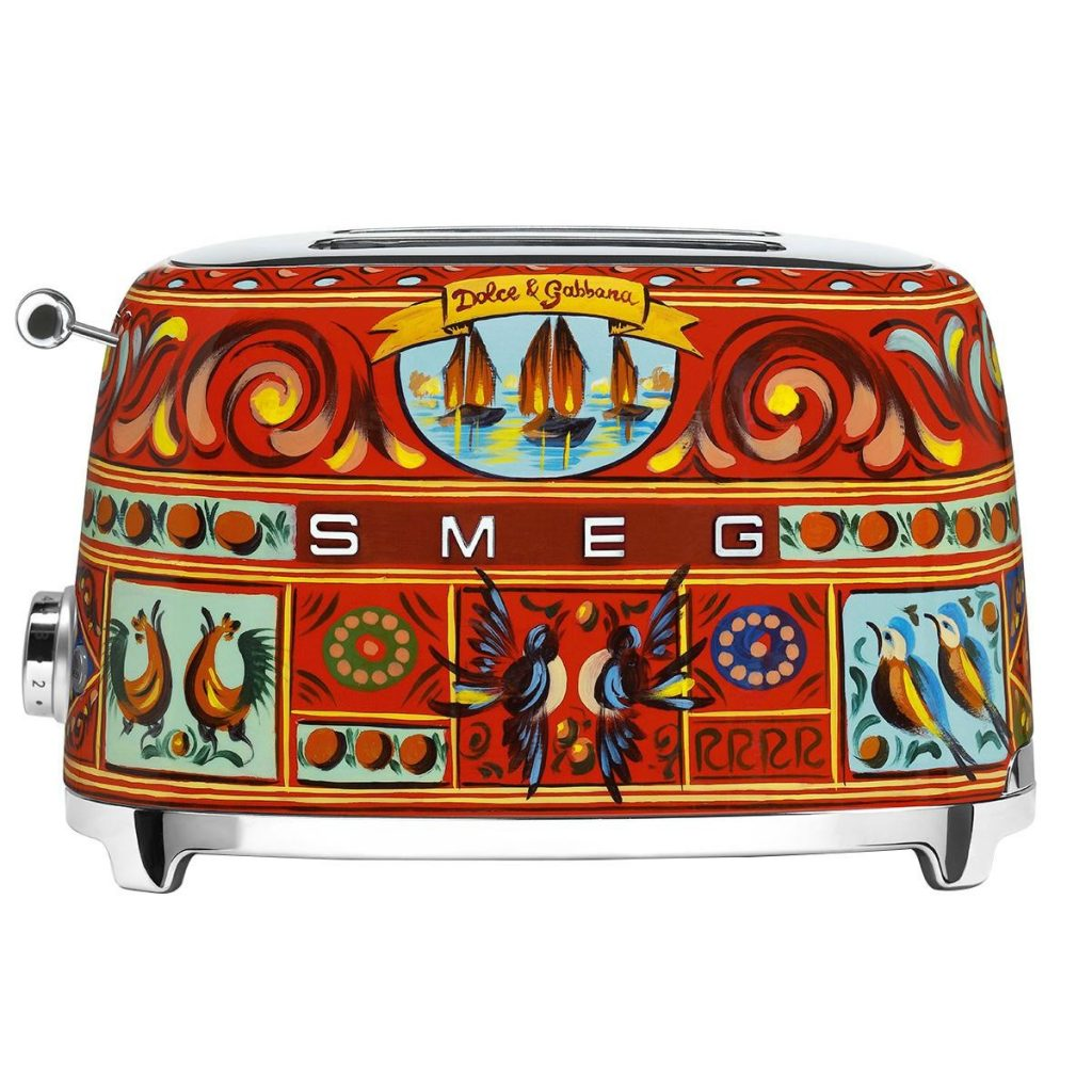 Grille pain toaster dolce gabbana