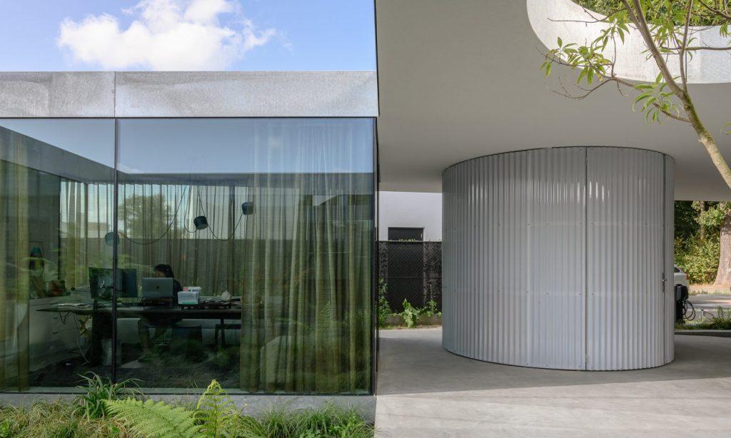 Villa Fifty Fifty vue de l'extérieur - Minute Luxe