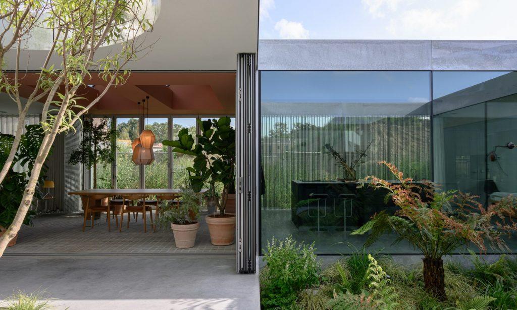 Villa Fifty Fifty vue de l'intérieur t - Minute Luxe