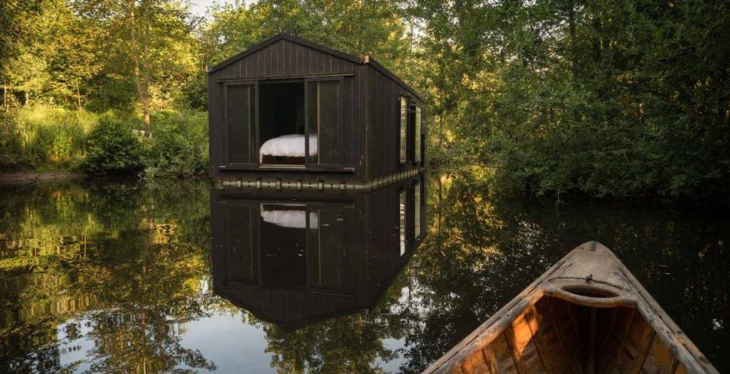 Cabane au bord de l'eau - Minute Luxe