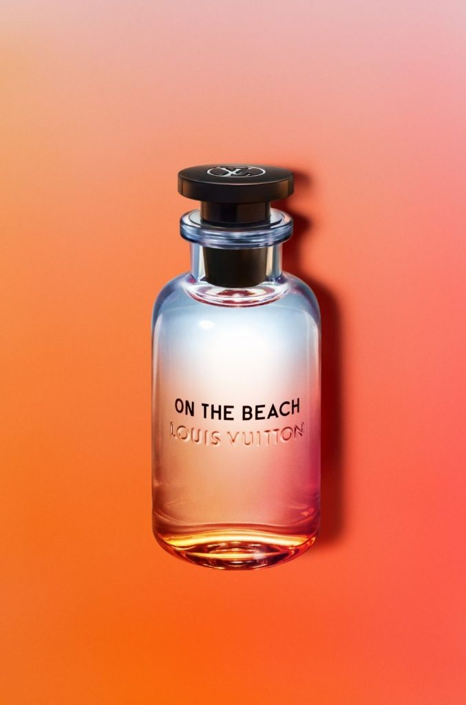 Parfum flacon luxe Louis vuitton On the Beach