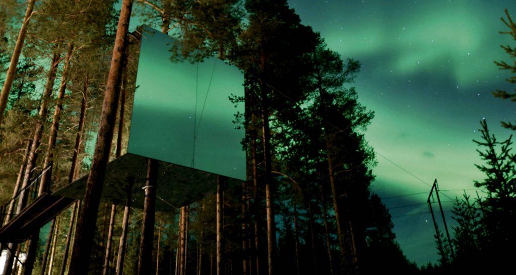Hôtel pour regarder les aurores boréales
