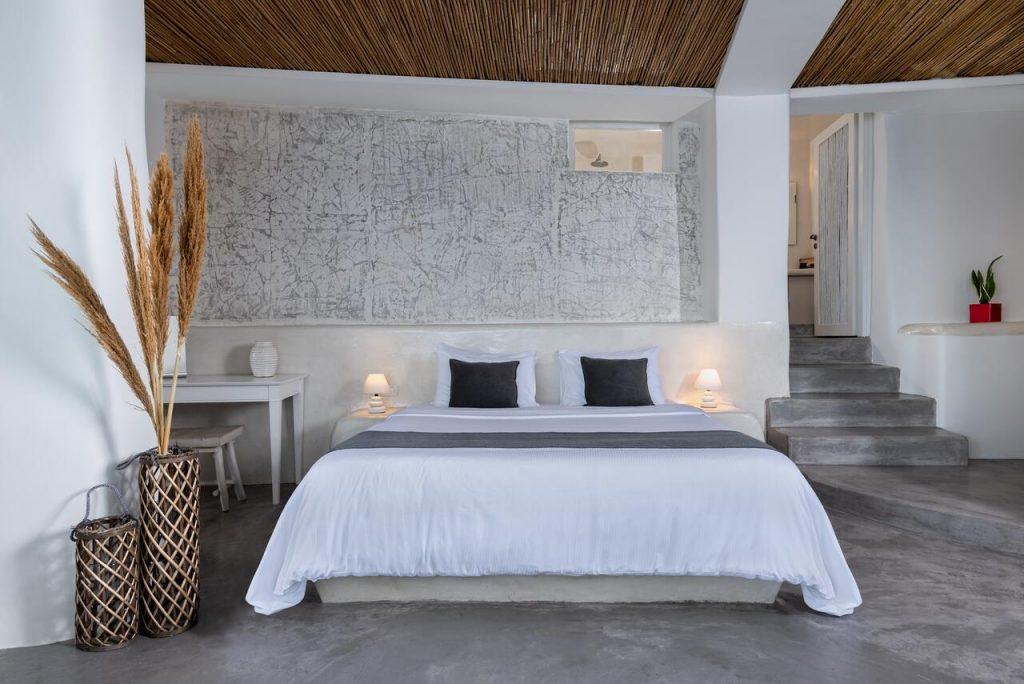Chambre hôtel de luxe Andronis Luxury Suites