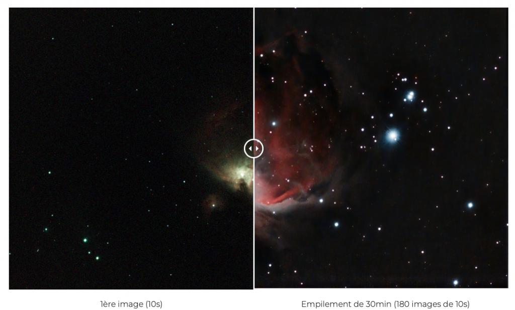Astronomie téléphone smartphone connecté télescope