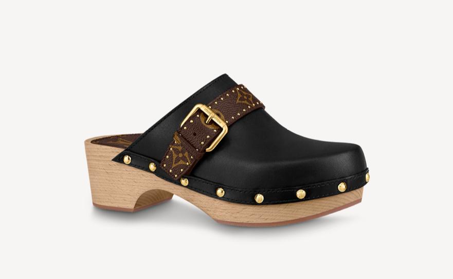 idée cadeaux fête des mères 2021 mules chaussures de luxe tendances Chloe Givenchy Louis Vuitton bottega