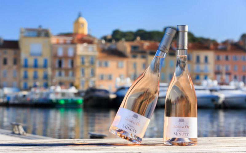 Vin Château Minuty alcool français domaine viticole rosé