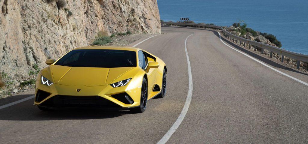 Lamborghini Huracan Evo Alexa Amazon - Minute Luxe Magazine