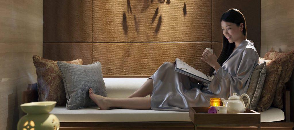 Salon Wellness Mandarin Oriental spa de luxe paris