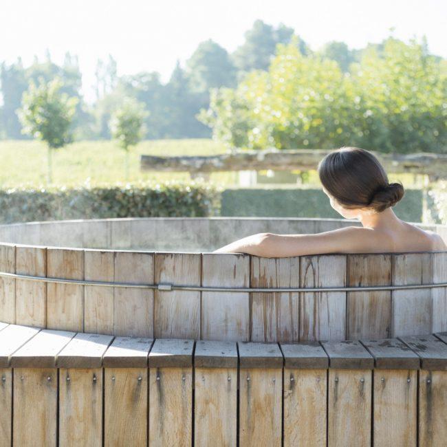 Les sources de caudale spa de luxe bordeaux jacuzzi