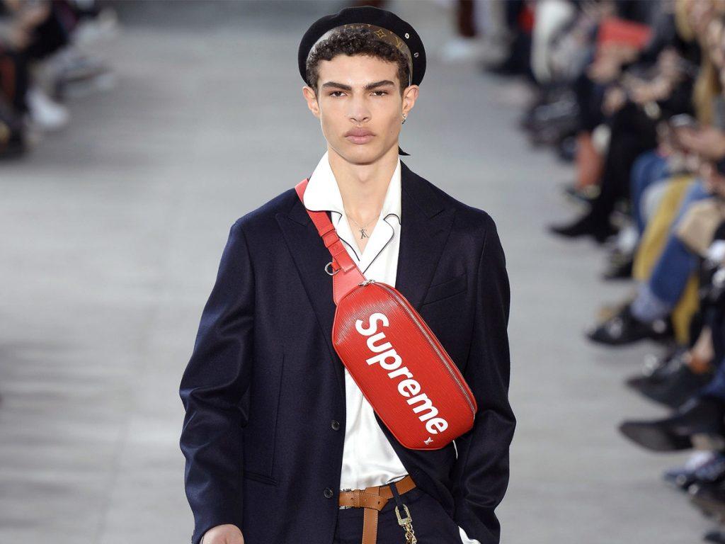 Collaboration marques de luxe Louis Vuitton suprême minute luxe magazine