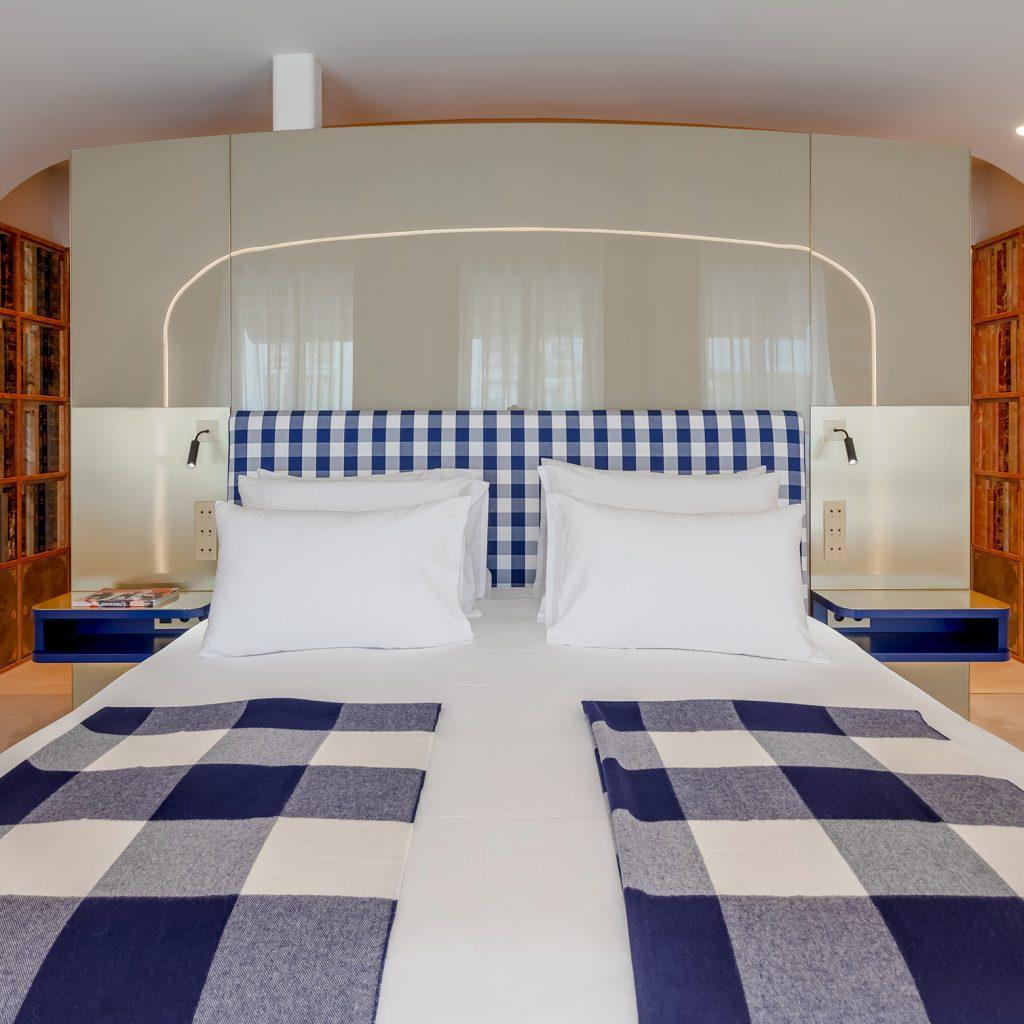 hastens sleep spa chambre hôtel de luxe trouble du sommeil bibliothèque Portugal -minuteluxe