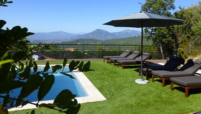 Domaine Olmeta location de villas corse luxe piscine