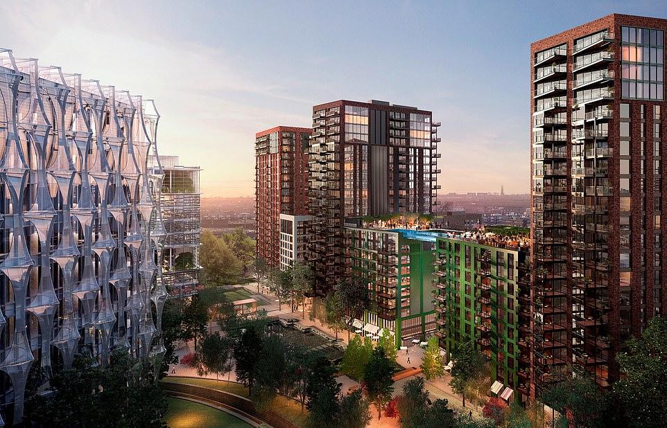 Skypool Londres Piscine de Luxe Suspendue Immeuble - Minute Luxe Magazine Plan maquette architecture