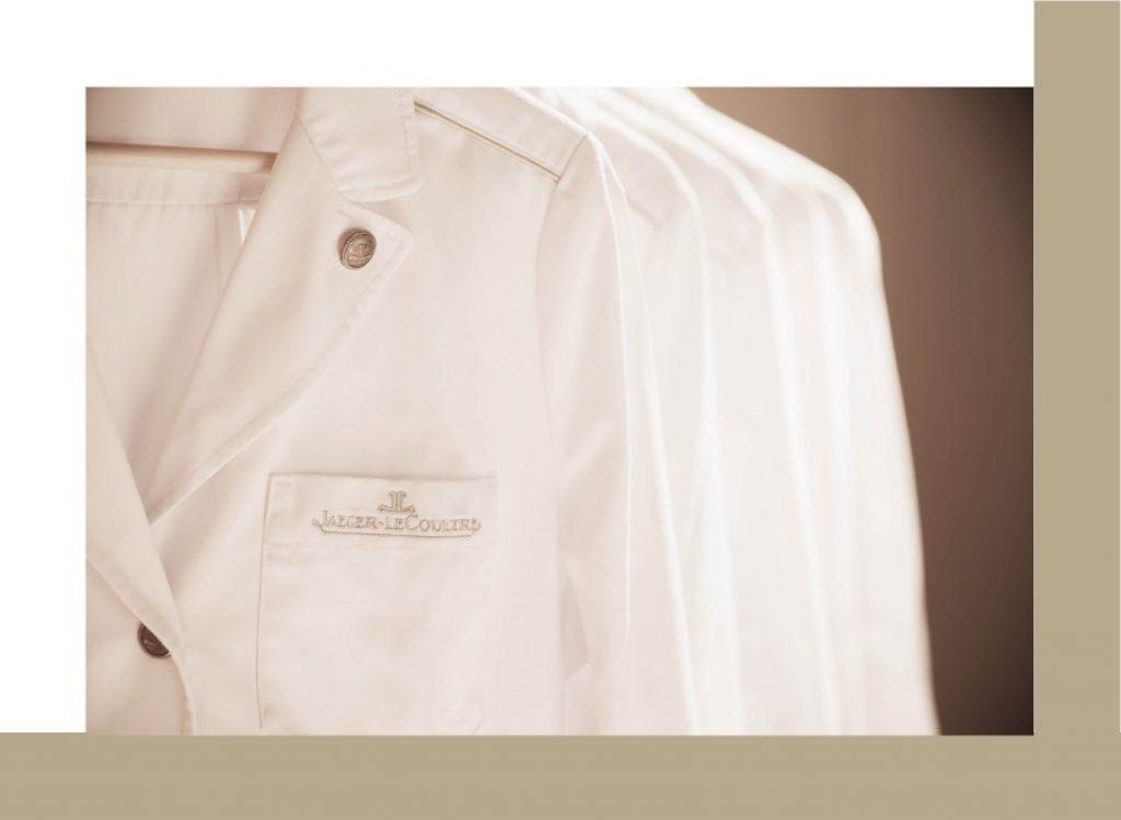 manufacture de Jaeger–LeCoultre chemise blanche