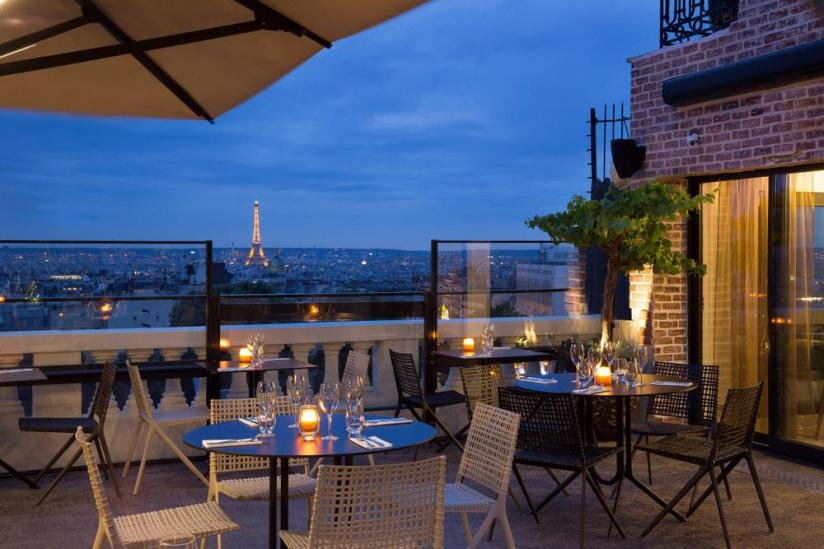 Rooftop Terrasse Hotel Paris - Minute Luxe Magazine
