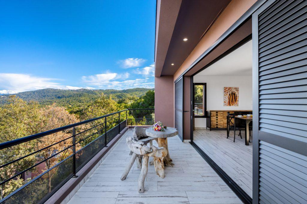 Domaine Olmeta location de villas corse luxe terrasse privative