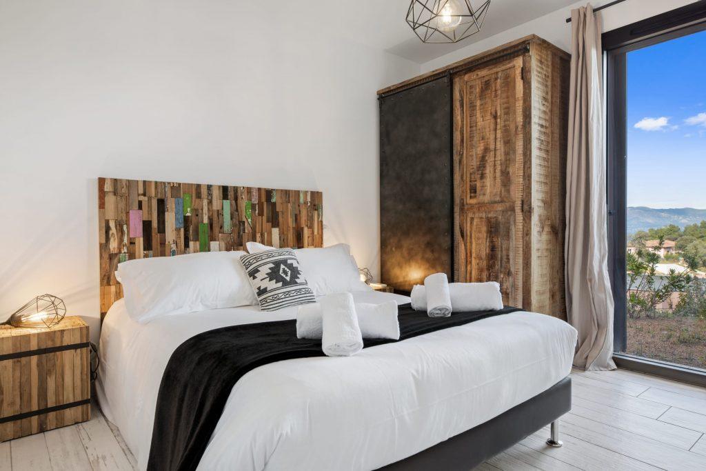 Domaine Olmeta location de villas corse luxe suite chambre