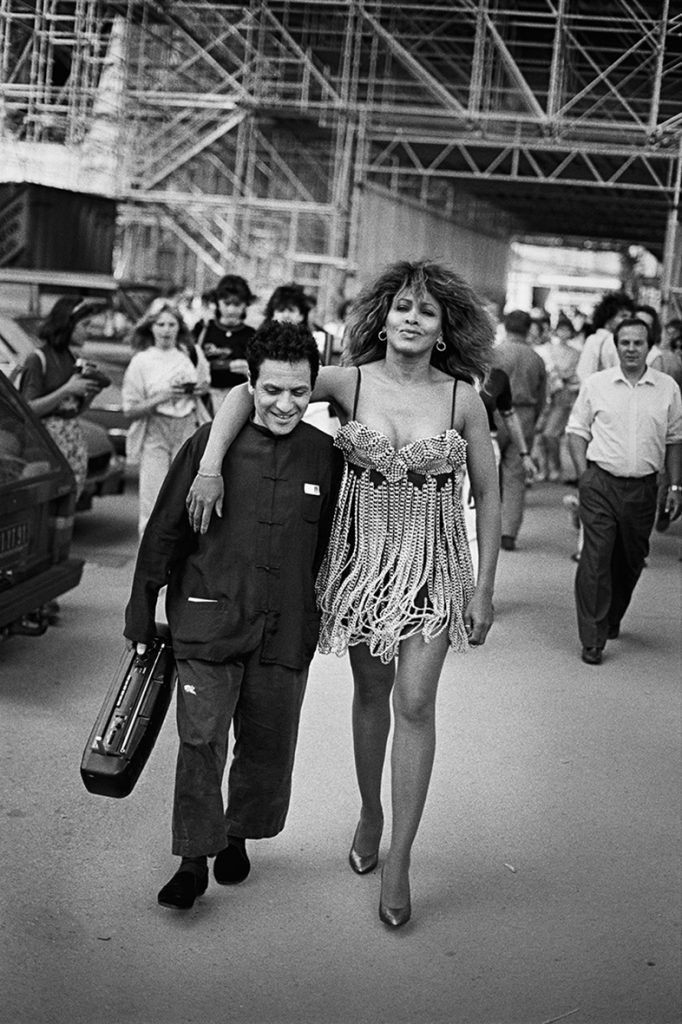 Peter Linderbergh Azzedine Alaia et Tina Turner